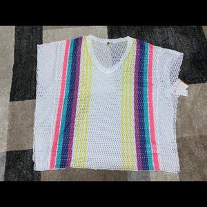 NWT Roxy bathing suit cover up